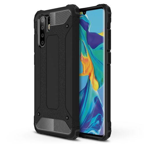 Military Defender Heavy Duty Shockproof Case for Huawei P30 Pro - Black